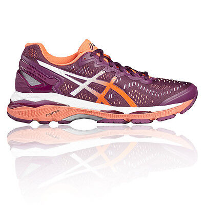Asics Gel Kayano 23 Womens Purple Support Running Sports Shoes Trainers
