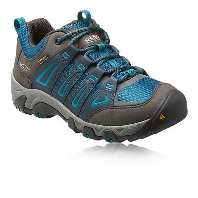 Keen Oakridge Womens Blue Waterproof Outdoors Walking Hiking Shoes Pumps
