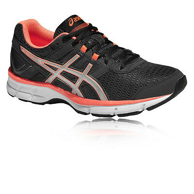 ASICS Gel-Galaxy 8 Womens Black Cushioned Running Road Sports Shoes Trainers