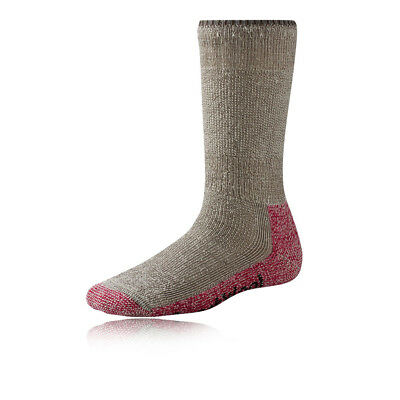 SmartWool Mountaineering Womens Pink Brown Walking Hiking Sports Socks