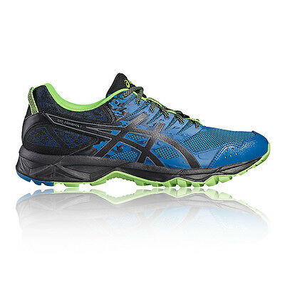 Asics Gel Sonoma 3 Mens Blue Trail Running Sports Shoes Trainers Pumps