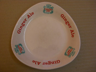 Canada Dry - Ginger Ale - Ceramic Ashtray - by Wade.