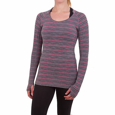 Higher State Womens LS Training Work Out Long Sleeve Crew Neck Sports Top