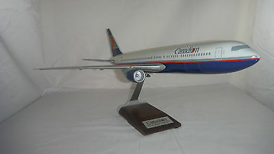 Canadian Airlines Desk Display Model 767 Boeing Airplane