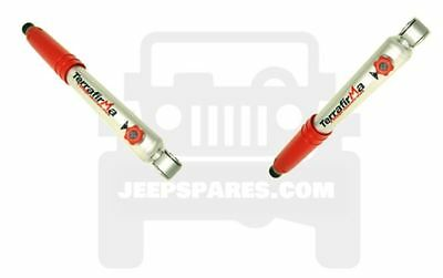 TF1122 x2 TERRAFIRMA 4 STAGE ADJUSTABLE SHOCK ABSORBER JEEP WRANGLER JK FRONT