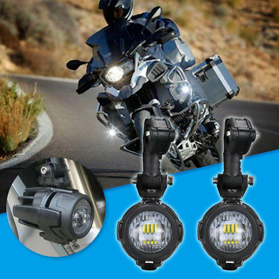 2pcs LED Fog Lamp Auxiliary Driving Lights for BMW K1600 R1200GS R1100GS ADV