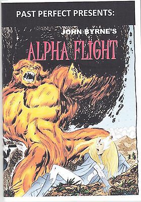 Past Perfect Special John Byrne's Alpha Flight #1 To #28 Amazing Weird Strange