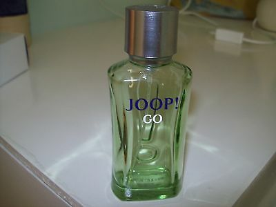 Empty Collectable After Shave Bottle Joop