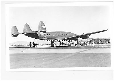 US Army Air Force Lockheed C-121 Constellation Vintage Photograph