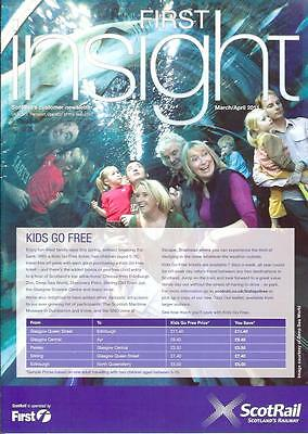 First Bus Scotrail Insight March 2011 Traveller Magazine (I list different)