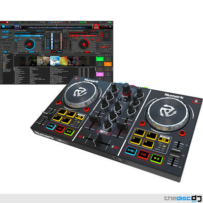 Numark Party Mix DJ Controller With Built In Lighting Show & Virtual DJ LE