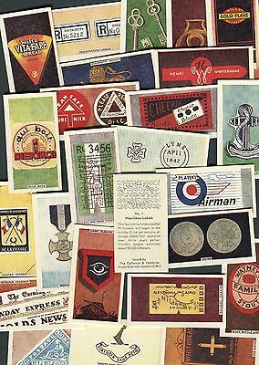 """Collector & Hobbyist 1950 Full Set Of 25 """"fascinating Hobbies"""" Trade Cards"""