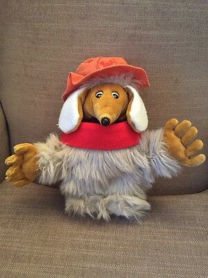 "VINTAGE 12"" ORINOCO WOMBLE FROM THE WOMBLES SOFT TOY 1990 Elizabeth Beresford."