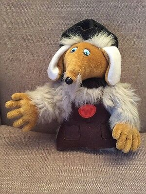 "VINTAGE 12"" TOBERMORY WOMBLE THE WOMBLES SOFT TOY 1990 Elizabeth Beresford."