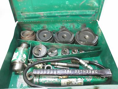 """Greenlee 7310 Knockout Punch Set for 1/2"""" THR 4"""""""