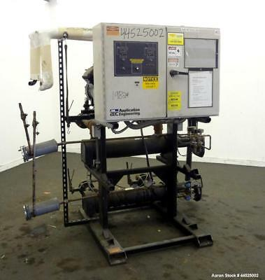 Used- AEC NEC Series Air Cooled Central Chiller, Model NECR-2-40. Cooling capaci