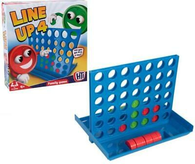 Line Up 4 Connect Four Dots Traditional Family Kids Christmas Board Game Toy