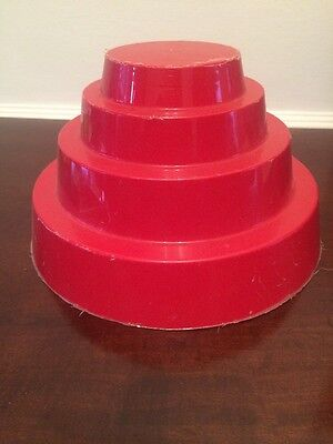 Devo All Tomorrow's Parties Energy Dome Red Plastic Hat