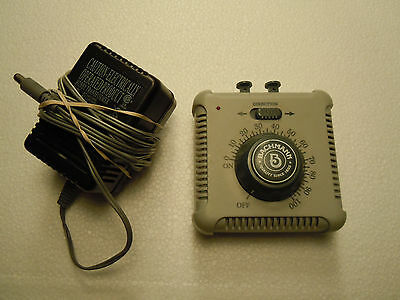 HO/N/ON30 SCALE BACHMANN 46605A SPEED CONTROLLER & TRANSFORMER Tested Good