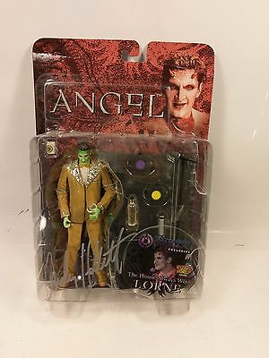 Signed Time & Space Toys Wizard World Exclusive Angel Lorne Action Figure Buffy