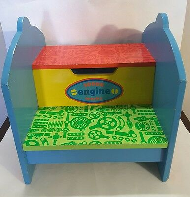 Thomas and Friends Step Stool Wood Kids Bathroom Toddler 150-2188 by SFI LTD