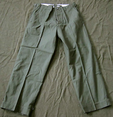 Wwii Us M1943 M43 Combat Field Trousers- Large