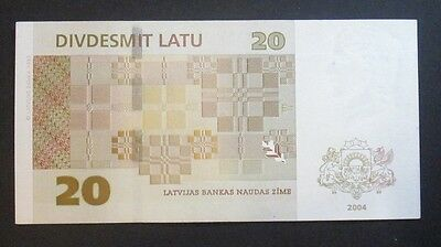 20 latu 2004 Latvia, good condition (!)