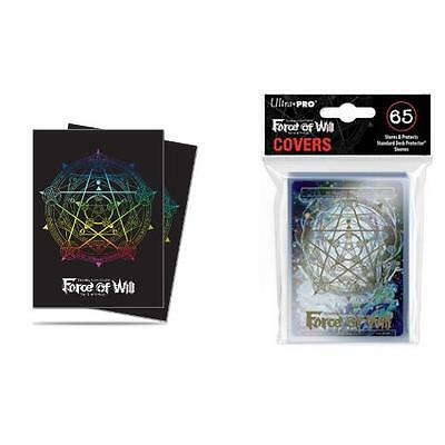 Ultra Pro Card Sleeves (65) - Force of Will - Magic Circle Sleeves and Covers