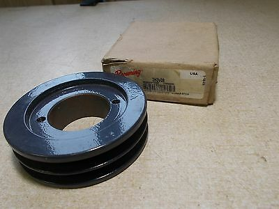 "NEW Browning 2H3V36 2-Groovy V-Belt Pulley 4FG90 1-9/16"" Bore *FREE SHIPPING*"