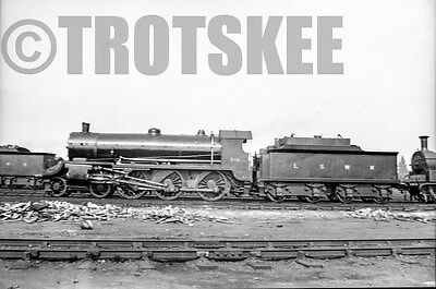 Larger Negative LSWR London & South Western Railway Steam Loco 515 1910s