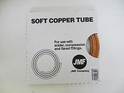 "Soft Copper Tubing Lot - 1/4""X10' Tube, NEW in pkg, Compression, Solder & Flair"