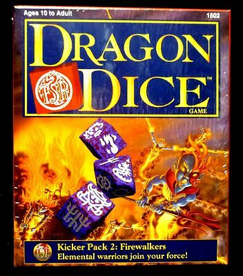 TSR Dragon Dice  Firewalkers Kicker Expansion Packs #2 released in 1997