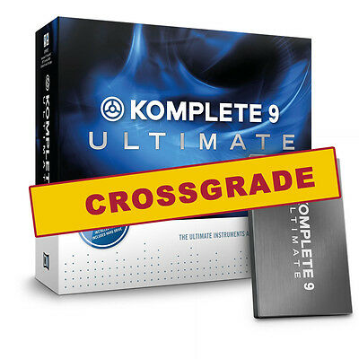 Native Instruments Komplete 9 Ultimate Crossgrade – PC & Mac