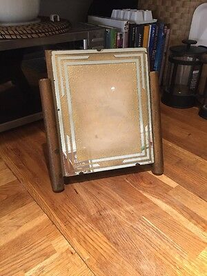 Art Deco Picture Frame Photograph Frame Stylish Mirrored 1930's 1940's
