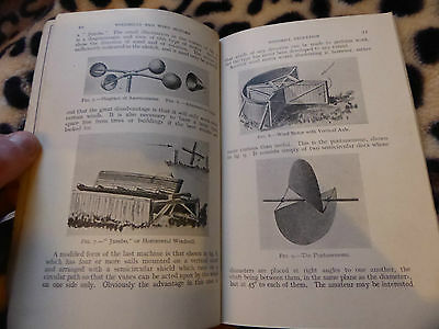 1930 Windmills And Wind Motors Fascinating Early Bk On Electricity Generators