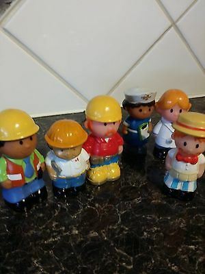 ELC Happyland figures X 6 - from various sets - VGC - See pictures (lot 2)
