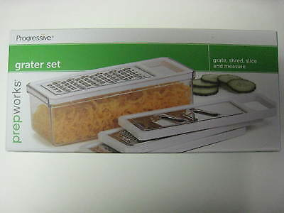 Progressive Multi Grater!  Dishwasher Safe!  Brand New - Ships Fast!