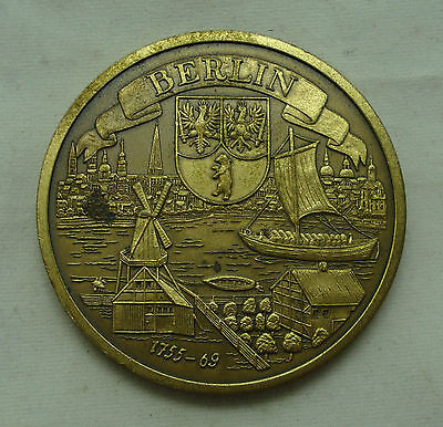 Germany Berlin table medal 1755-69 40mm