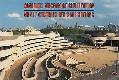 Old Postcard: Canadian Museum Of Civilization, Canada.