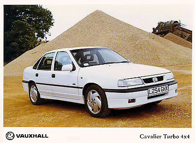 Vauxhall Cavalier Mk3 Vectra A Press Photo Collection inc GSi 2000, Turbo ect