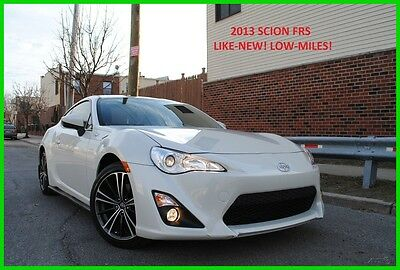 2013 Scion FR-S FRS AT AUTOMATIC BRZ Runs Awesome Low Miles Pearl White Rebuilt N0t Salvage Title Save Thousands
