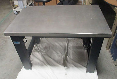 TMC Micro-G 63-541 Stainless Steel Vibration Isolation Lab Table