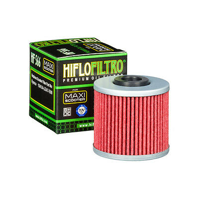 Kymco K-XCT 125 / 300 ie (2012 to 2016) HifloFiltro Oil Filter (HF566)