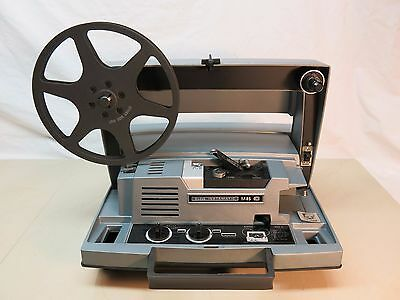 Vintage Kodak Instamatic M85 8Mm Movie Film Projector ~ Works!  Good Lamp!