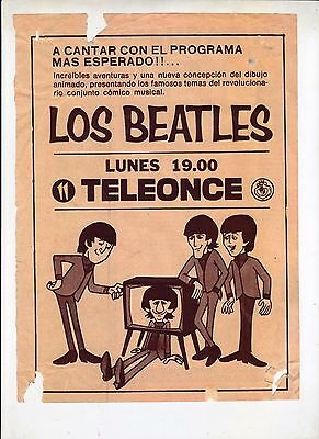 The Beatles:beatles Cartoons Clippings-Argentina-Uruguay Middle 60's-Rare..see!!