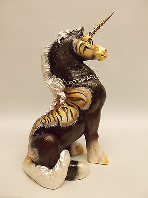 Windstone Editions Grab Bag Young Unicorn Statue Sculpture Melody Pena Signed P