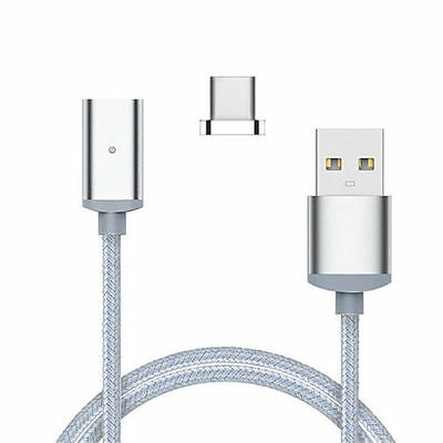 Metal Magnetic  Type-C  Micro USB C 3.1Data Snyc Charger Cable For Android Phone