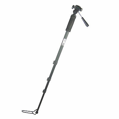 Cavalletto Monopiede Snodabile per Foto e Video Prof 179cm con Borsa in Regalo