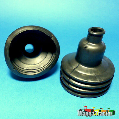 GSB3501 2x Gear Lever Boots Ford 2000 3000 Tractor & 4000 5000 plus Loader B/Hoe