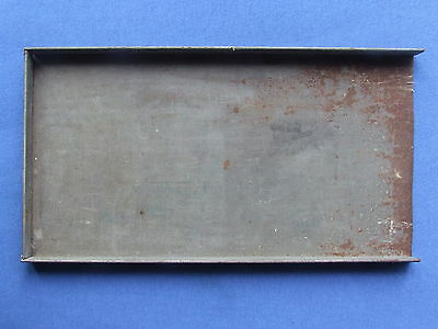 Letterpress Printing Adana 12 x 6 1/2 inch STEEL GALLEY Storing Type Formes etc.